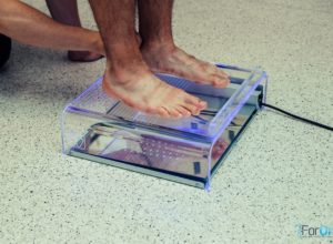 badanie na podoskopie stopy płaskie