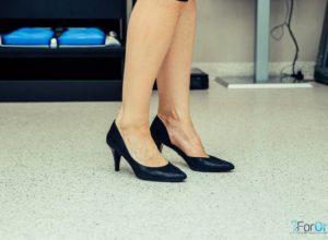 buty na obcasie z wkładkami