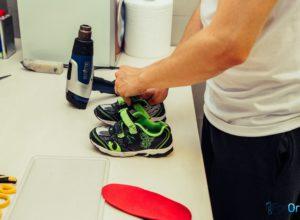 wkładki ortopedyczne dziecięce buty